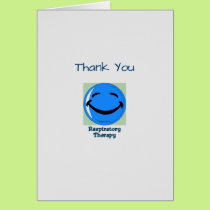 Medical Thank You Respiratory Therapy Card