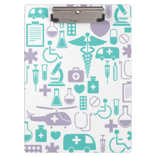 Medical Theme Doctor Custom Clipboard