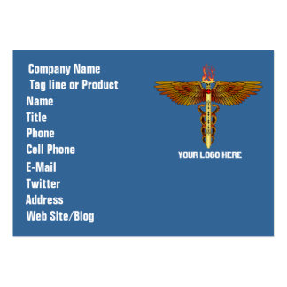 Medical  theme for party or events See Notes Large Business Cards (Pack Of 100)
