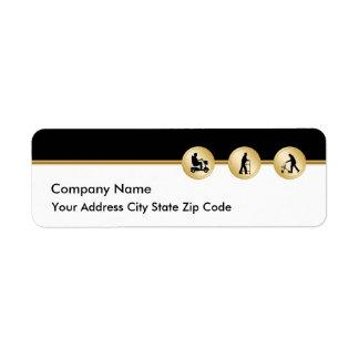 Medical Theme Return Address Labels