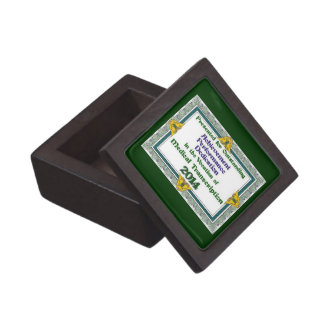Medical Transcription Certificate 2014 Gift Box