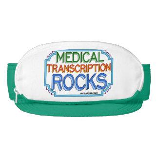 Medical Transcription Rocks Visor