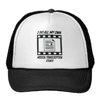 Medical Transcription Stunts Trucker Hat