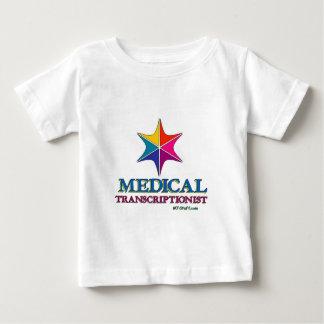 Medical Transcriptionist Multi C Star Baby T-Shirt