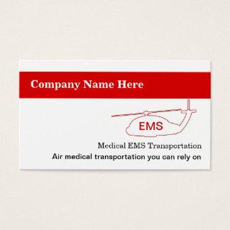 Medical Transportation Business Cards