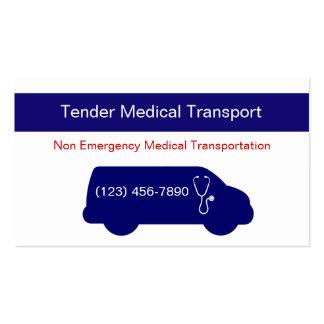 Medical Transportation Business Cards & Templates