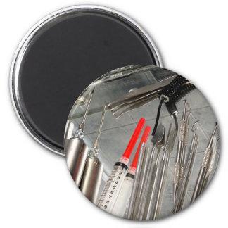 Medical Utensils 2 Inch Round Magnet