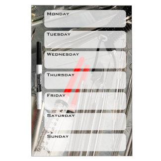 Medical Utensils Dry-Erase Board
