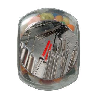 Medical Utensils Glass Candy Jars