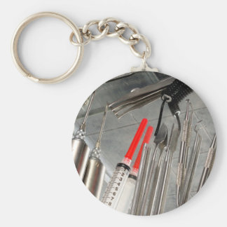 Medical Utensils Keychain