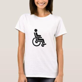 MEDICAL WHEELCHAIR ACCESS HANDICAP HANDIDART SYMBO T-Shirt