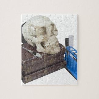 MedicalBooksSkullTestTubes051213.png Jigsaw Puzzle