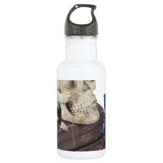 MedicalBooksSkullTestTubes051213.png Water Bottle