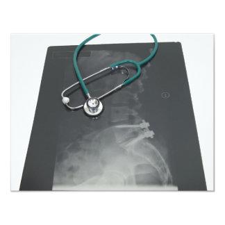 """MedicalExam061209 Invitación 4.25"""" X 5.5"""""""