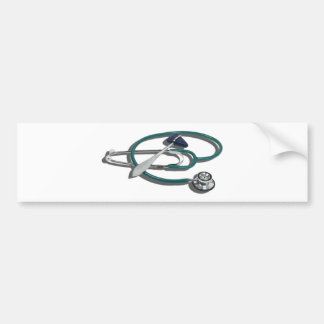 MedicalHammerStethoscope112010 Bumper Sticker
