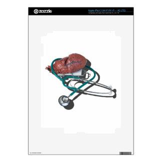 MedicalHeartGurneyStethoscope092715.png iPad 3 Decals