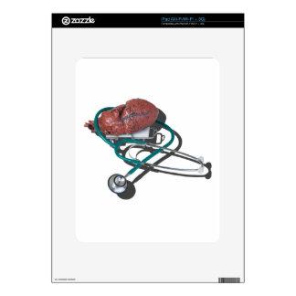MedicalHeartGurneyStethoscope092715.png iPad Skins