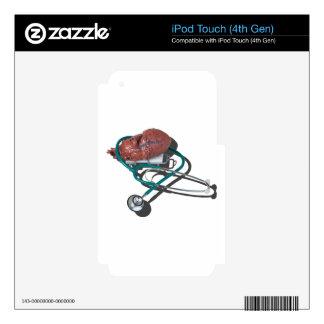 MedicalHeartGurneyStethoscope092715.png iPod Touch 4G Decals