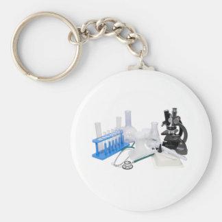 MedicalResearch071209 Basic Round Button Keychain