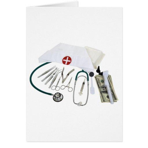 MedicalToolsFunds082309 Greeting Card