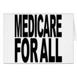 Medicare For All Greeting Card