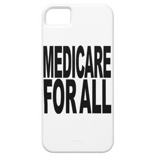 Medicare For All iPhone 5 Cover