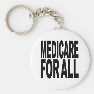 Medicare For All Keychain
