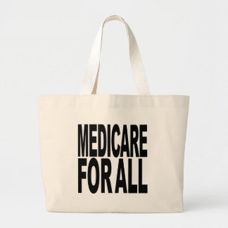 Medicare For All Large Tote Bag
