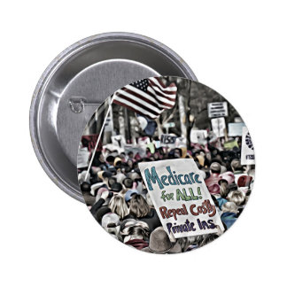 Medicare for All Pinback Button
