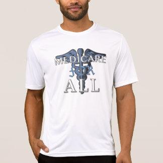 MEDICARE FOR ALL sport-tek t-shirt wht