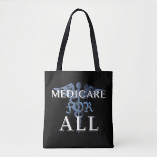MEDICARE FOR ALL tote blk