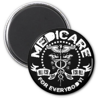 Medicare For Everybody 2 Inch Round Magnet