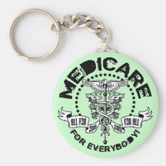 Medicare For Everybody Keychain