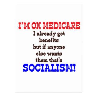 Medicare Hypocrite Postcard