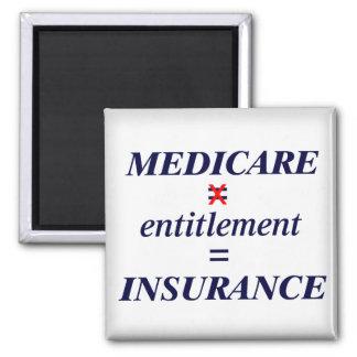 Medicare not Entitlement Magnet