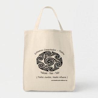 Medicare Para Todos Canvas Bags