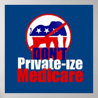Medicare POSTER Print