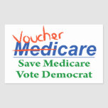 MediCare will become VoucherCare Rectangular Sticker