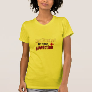 Medicated for your protection yellow t shirt