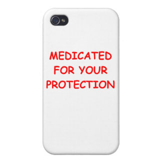 MEDICATED png iPhone 4/4S Covers