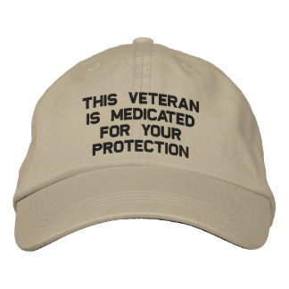 Medicated Vet Embroidered Hat