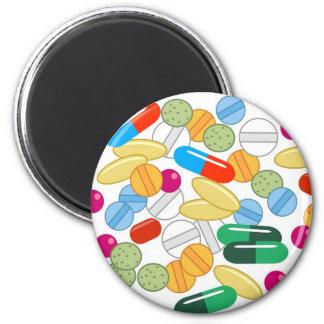 Medication 2 Inch Round Magnet