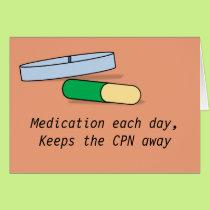 Medication each day card (CPN)