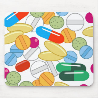 Medication Mouse Pad