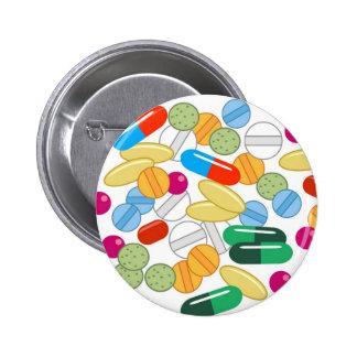 Medication Pinback Button