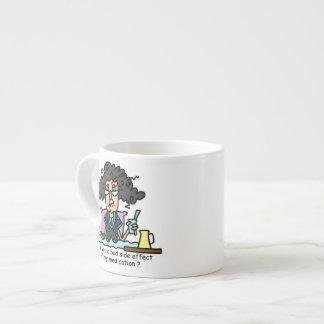 Medication Side Effect Dark Hair 6 Oz Ceramic Espresso Cup