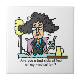 Medication Side Effect Dark Hair Tiles