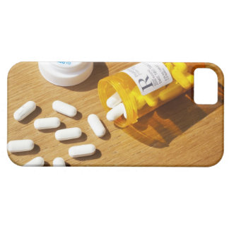 Medication spilled on table iPhone SE/5/5s case