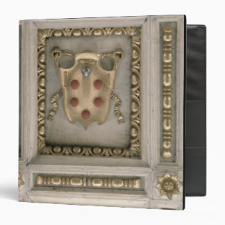 Medici coat of arms, from the soffit of the church 3 ring binder