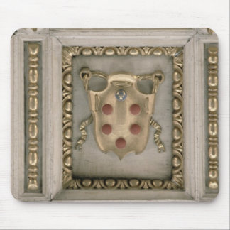Medici coat of arms, from the soffit of the church mouse pad